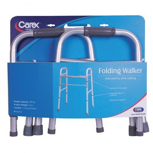 Apex-Carex Folding Walker