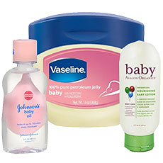 Baby Lotions and Oils