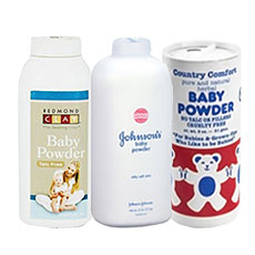 Baby Powders and Talc