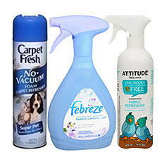 Carpet and Fabric Deodorizers