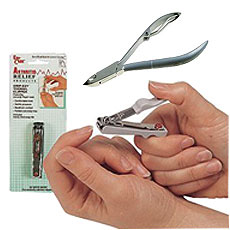 Nail Clippers, Nippers and Scissors