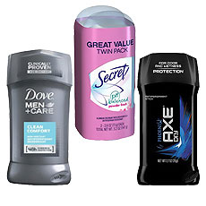 Solid Deodorants