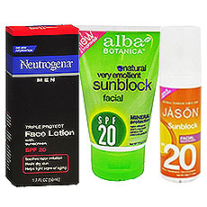 Sunscreens - SPF 20