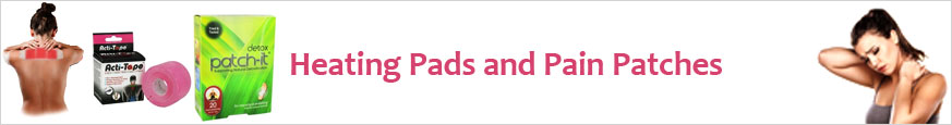 Heating Pads and Pain Patches