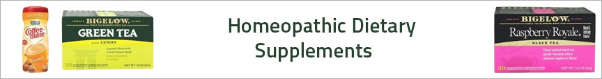 Homeopathic Dietary Supplements
