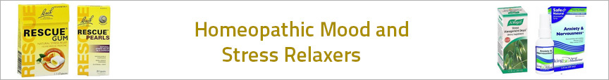 Homeopathic Mood and Stress Relaxers