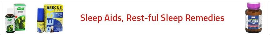 Sleep Aids, Rest-ful Sleep Remedies