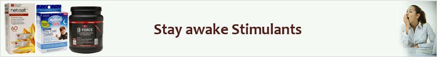 Stay awake Stimulants