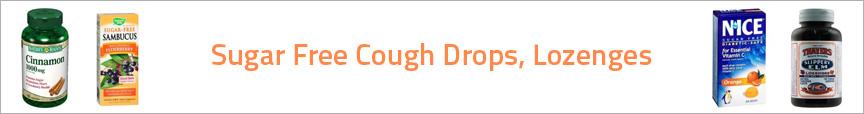 Sugar Free Cough Drops, Lozenges