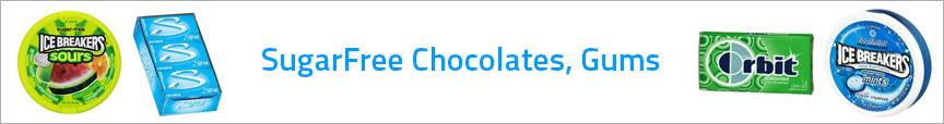 SugarFree Chocolates, Gums
