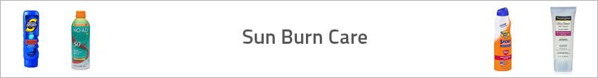 Sun Burn Care