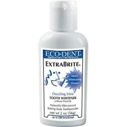 Eco dent extrabrite dazzling mint toothpowder - 2 oz