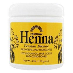 Rainbow research henna persian hair color blonde - 4 oz