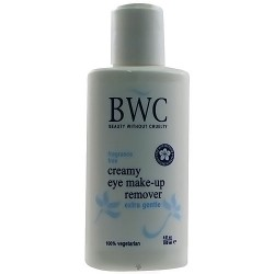 BWC fragrance free creamy eye and face makeup remover - 4 oz