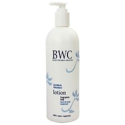 BWC Fragrance Free hand and body lotion treatment - 16 oz