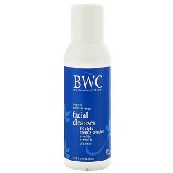 BWC organic aromatherapy facial cleanser, 2 oz