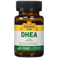 Country life dhea 25 mg vegetarian capsules  - 90 ea