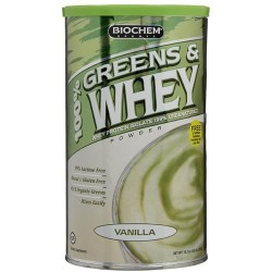 Biochem 100percent greens and whey powder - 10.3 oz