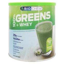 Biochem by country life 100% greens and whey powder vanilla - 21.3oz
