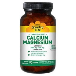 Country life calcium magnesium complex - 90 ea