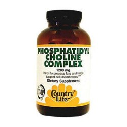 Country life phosphatidyl choline complex 1200 mg softgels - 100 ea