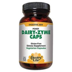 Country Life Dairy-zyme - 50 ea