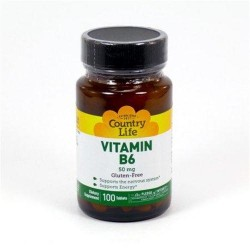 Vitamin b6 50 mg by country life tablets - 100 ea
