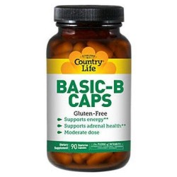 Country life vitamin basic b vegetarian capsules - 90 ea