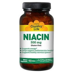Country Life Niacin 500 Mg - 90 Count