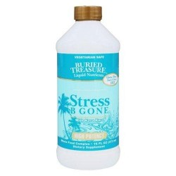 Buried treasure products  stress b gone with kava kava high potency - 16 oz