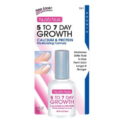 Nutra nail 5 to 7 day growth calcium formula - 0.45 oz