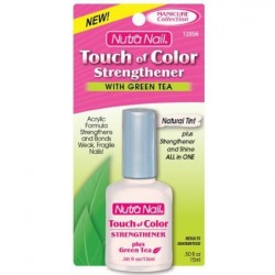 Nutra nail touch of color strengthener naturl tint - 2 oz