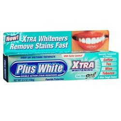 Plus white toothpaste xtra whitening gel mint - 3.5 oz