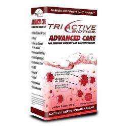 Triactive Biotics Advanced Care Powder Blend, Natural Berry - 2.12 oz