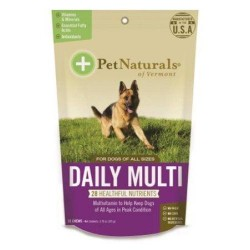 Pet naturals of vermont daily multi for dogs - 30 ea