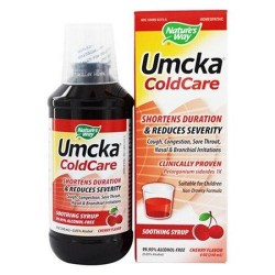 Natures way homeopathic umcka cold care soothing syrup - 8 oz