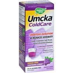 Natures way umcka coldcare syrup sugarfree grape - 4 oz