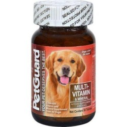 Petguard multivitamin and mineral for dogs tablets - 50 ea