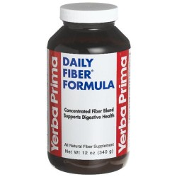 Yerba prima botanicals daily fiber formula , powder - 12 oz
