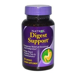 Natrol digest support capsules - 60 ea