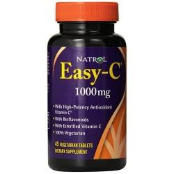 Natrol easy c 1000mg with bios vegi tablets  - 45 ea