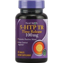 Natrol 5htp time release 100 mg tablets - 45 ea