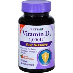 Natrol vitamin d3 1000 iu fast dissolve - 90 ea