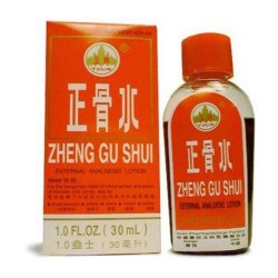 Solstice medicine company zheng gu shui topical pain relief herbal liquid - 1 oz