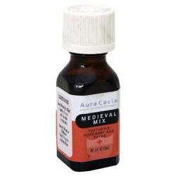 Aura cacia pure aromatherapy medieval mix - 0.5 oz