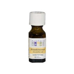 Aura cacia essential oil frankincense with jojoba  - 0.5 oz