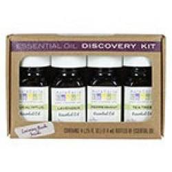 Essential oil discovery kit aura cacia 1 pack - 0.25 oz