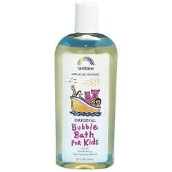 Rainbow research organic herbal bubble bath for kids original scent - 12 oz