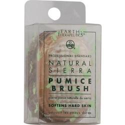 Earth therapeutics natural sierra, pumice brush - 1 ea