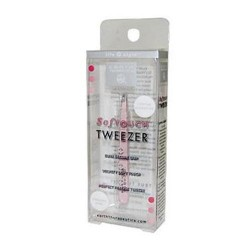 Earth therapeutics softouch tweezer pink - 1 ea